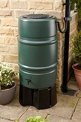 harcostar 227 litros depósito de agua con tapa, grifo, base y Desviador Kit entrega gratuita: Amazon.es: Jardín