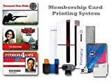 Club Membership ID Card Printer System & Supplies Bundle with Card Imaging Software