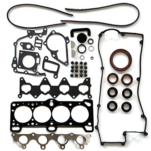 (SCITOO Compatible with Cylinder Head Gasket Set for Kia Rio5 Hyundai Accent 1.6L 06-11 DOHC 16 Engine Head Gaskets Kit Sets )