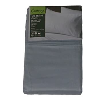 Canopy Sky Blue 2 King Bed Pillowcases Pair of Pillow Cases  sc 1 st  Amazon.com & Amazon.com: Canopy Sky Blue 2 King Bed Pillowcases Pair of Pillow ...