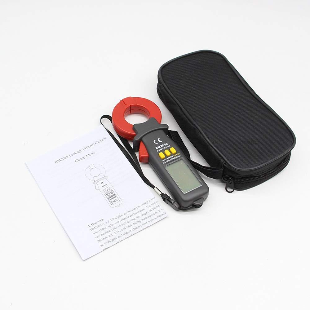 Multimetro BM2060 Misuratore di Pinza Digitale for Test di Corrente di dispersione Professionale Che Misura la precisione della microcorrente a 0,01A Tester Multiplo MDYHJDHYQ