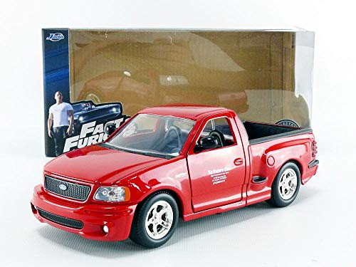 BRIAN FAST AND FURIOUS 1//24 JADA TOYS 99574R FORD F150 SVT LIGHTNING