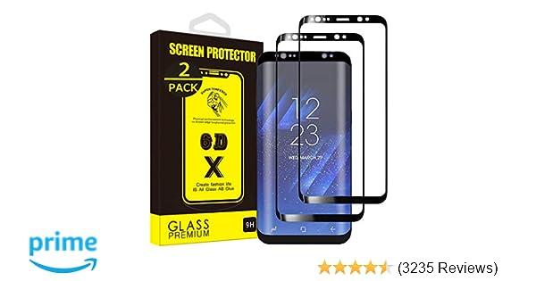 Amazon com: Yoyamo Tempered Glass Screen Protector for Samsung