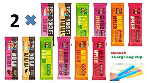 Kind Pressed Bars - 6 Flavor Fruit and Veggie Bar Variety Pack (24PK)