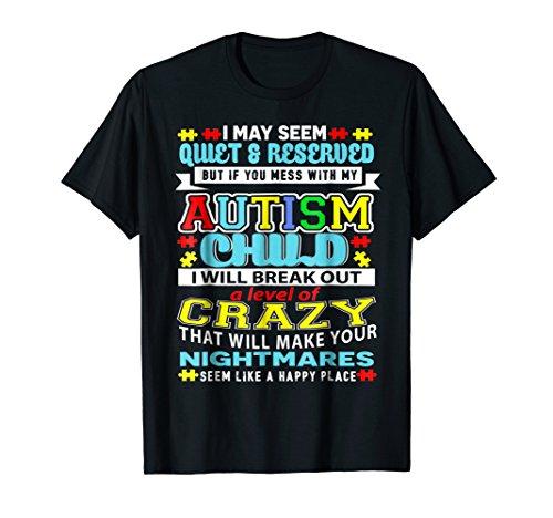 Autism Child Autism Awareness for Dad, Mom, Papa, Mama Shirt