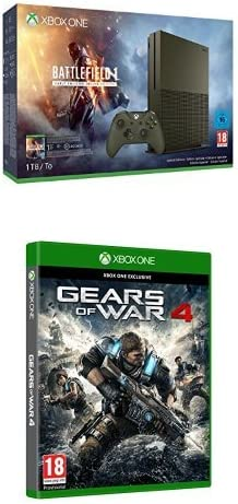 Xbox One - Pack Consola S 1 TB: Battlefield 1 + Gears Of War 4: Amazon.es: Videojuegos