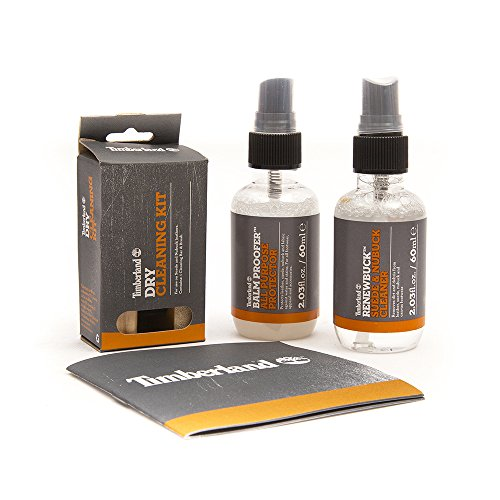 Timberland Travel Kit Plus - Balm Proofer, Renewbuck & Dry Cleaning Kit (Best Suede Cleaner For Timberland Boots)