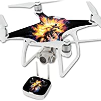 MightySkins Skin For DJI Phantom 4 Quadcopter Drone – Leo Galaxy Protective, Durable, and Unique Vinyl Decal wrap cover | Easy To Apply, Remove, and Change Styles | Made in the USA