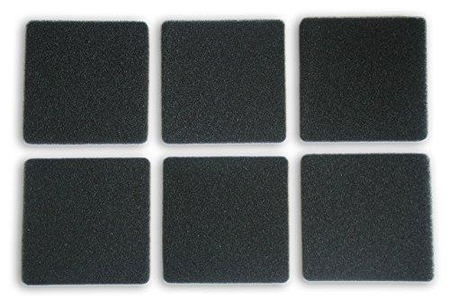 LTWHOME Compatible Filtration Foam Fit Rena Filstar xP Filter Media 724A 30PPI(Pack of 12) (Filstar Water Rena)