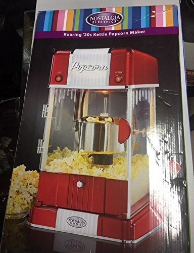 Nostalgia Electrics Roaring 20s Kettle Popcorn Maker GKP250 10 Cup