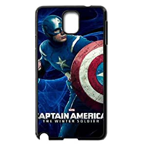 WJHSSB Customized Print Captain America Hard Skin Case Compatible For Samsung Galaxy Note 3 N9000