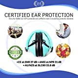 Noise Cancelling Earmuffs for Kids and even Adults, Enticing and Expressive Head Band Colors, Adjustable and Comfortable for both Kids and Adults