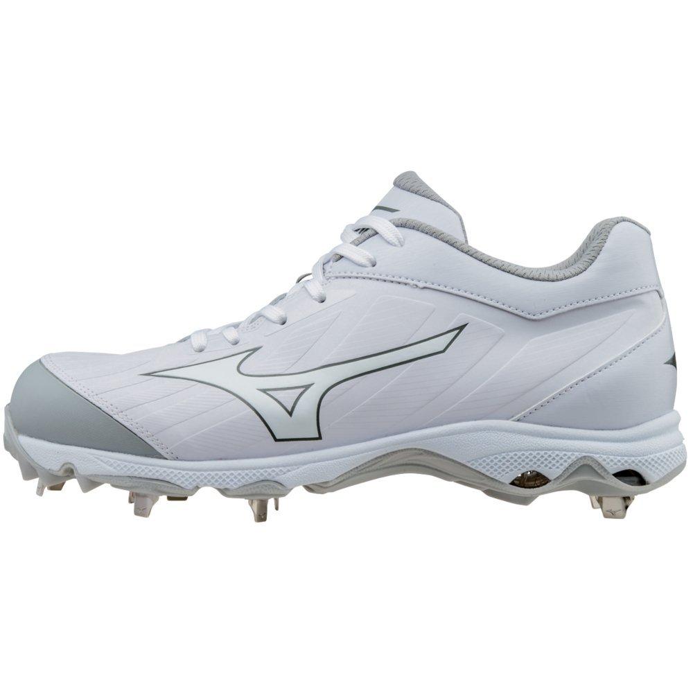 ff0a43ef7b85 Mizuno Women's 9-Spike Advanced Sweep 3 Metal Softball Cleats - White &  White product