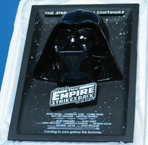 3 D Movie Posters - Code 3 Star Wars Sculpted 3d Movie Poster - Celebration III the Empire Strikes Back Advanced One Sheet