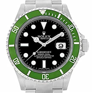 Rolex Submariner automatic-self-wind mens Watch 16610LV (Certified Pre-owned)