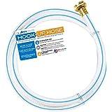 """Teknor Apex 7533-4 Aquaflex Hook-Up Hose - 1/2"""" x 4'"""