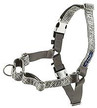 PetSafe Bling Easy Walk Harness, Large, Silver