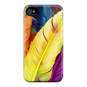 Feathers In Colors/ Fashionable For Iphone 5/5S Phone Case Cover
