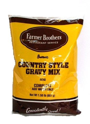 Farmer Brothers Instant Country Gravy Mix, 1.5 lb Bag ()
