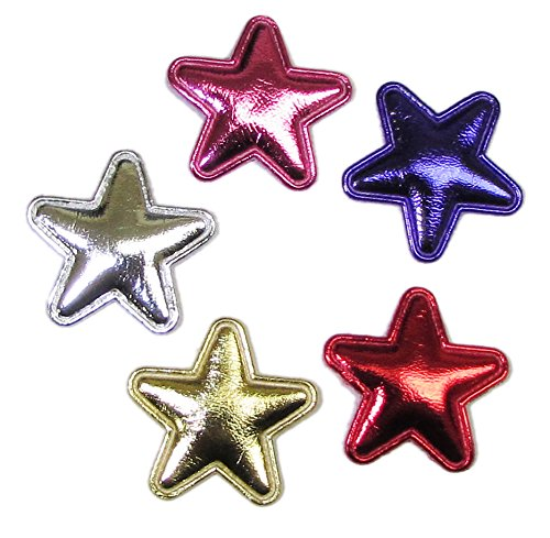 HipGirl Appliques, Flower and Embellishm - Metallic Star Bow Shopping Results