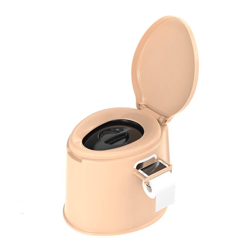 Khaki A Portable Non-Slip Mobile Elderly Pregnant Women Mobile Adult Household Toilet