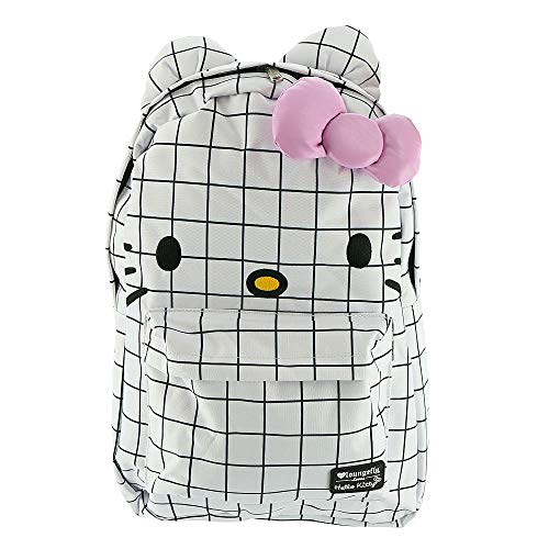 Loungefly x Hello Kitty Graph Lines Nylon Backpack (One Size, Multi) -