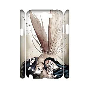 S-ADFG Fairy Customized Hard 3D Case For Samsung Galaxy Note 2 N7100