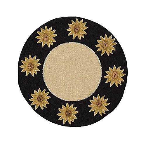 Sunflower Accent - Park Designs Sunflower Check Accent Mat