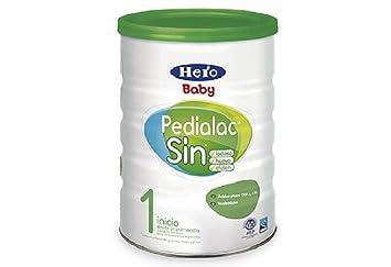 Hero Baby Pedialac Sin - Leche Sin Lactosa, 800 Gramos: Amazon.es: Salud y cuidado personal