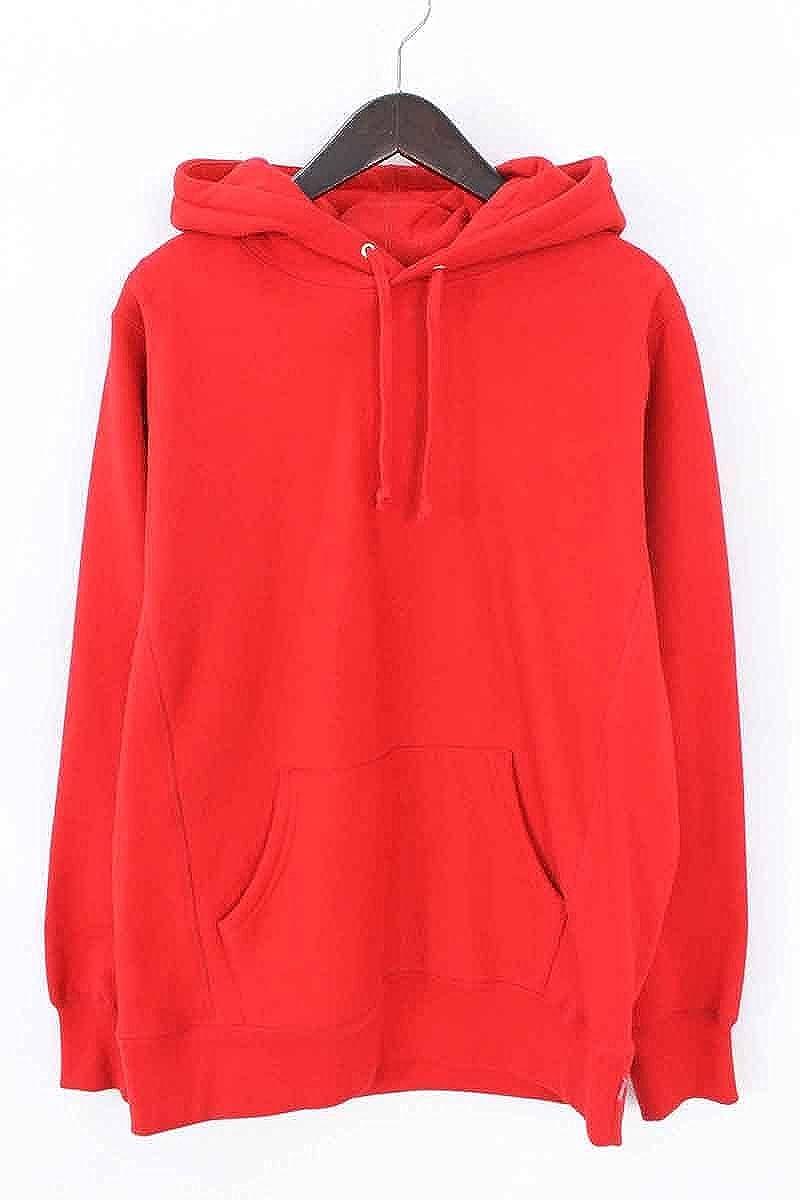 (シュプリーム) SUPREME 【15AW】【Classic Script Hooded Sweatshirt】スクリプトロゴプルオーバーパーカー(M/レッド) 中古 B07DRHHSBJ