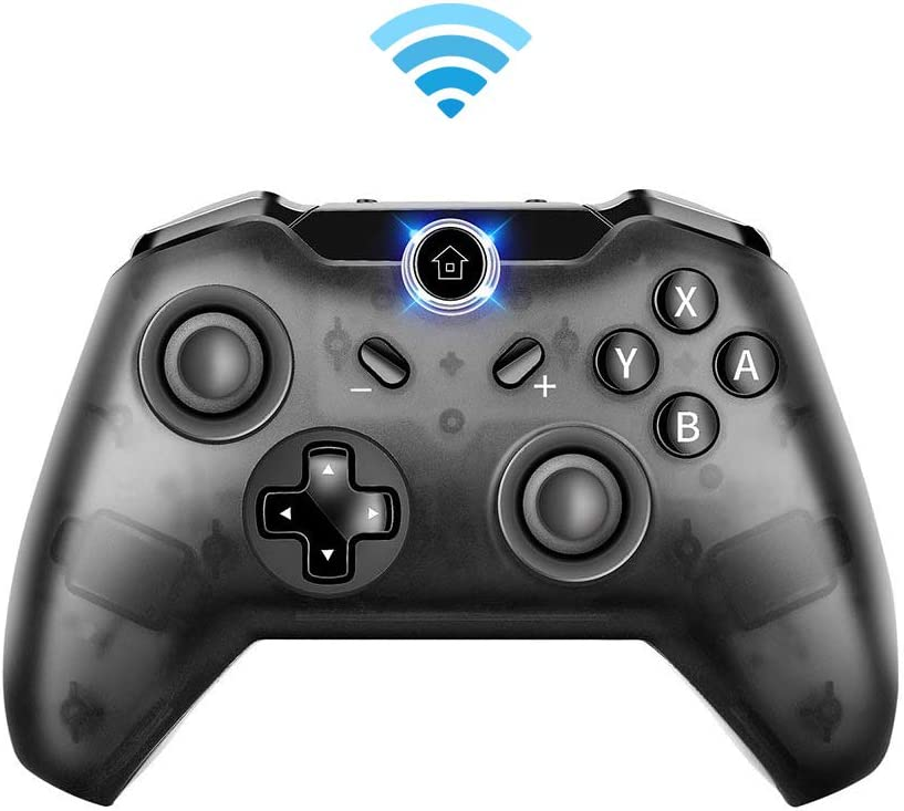 Wireless Controller for Nintendo Switch, Bigaint Pro Controller Compatible with Nintendo Switch Support Gyro Axis Function & Double Vibration