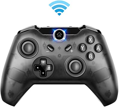Bigaint - Mando inalámbrico para Nintendo Switch, Pro Controller compatible con Nintendo Switch, Windows PC, función de giro y doble vibración: Amazon.es: Electrónica