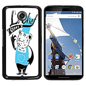 Dragon Case - FOR NEXUS 6 / X / Moto X Pro - Please call me cook - Caja protectora de pl??stico duro de la cubierta Dise?¡Ào Slim Fit
