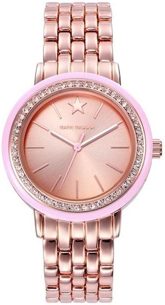 Mark Maddox MM7007-97 - Reloj, impermeable, 30m, color rosa