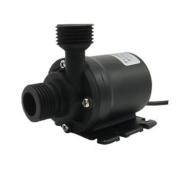 800L//H 19W Brushless Motor Wasserkreislauf Aquarium Teich Wasserpumpe Black