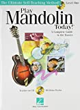 Play Mandolin Today! Beginner's Book+CD+DVD Package