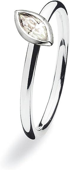 Spinning® 15300XS - Anillo de Mujer de Plata de Ley con 1 ...