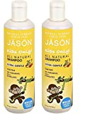 Cleansing Conditioner Without Alcohol - Jason For Kids Only! Extra Gentle Shampoo, 17.5 oz, 2 pk