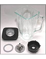 Brentwood P-OST722 Replacement Jar Set, Oster Blender Compatible, 0.33 Gallon Capacity