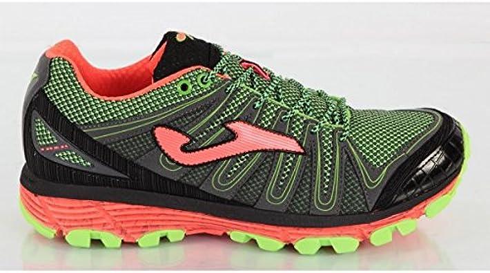 Zapatillas running Joma TK TREK 401 FLUOR-BLACK (42): Amazon.es: Zapatos y complementos