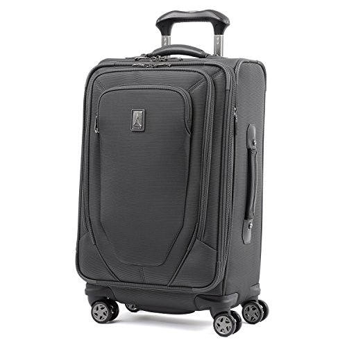Price comparison product image Travelpro Crew 10 21-Inch Expandable Spinner Suiter (Grey)