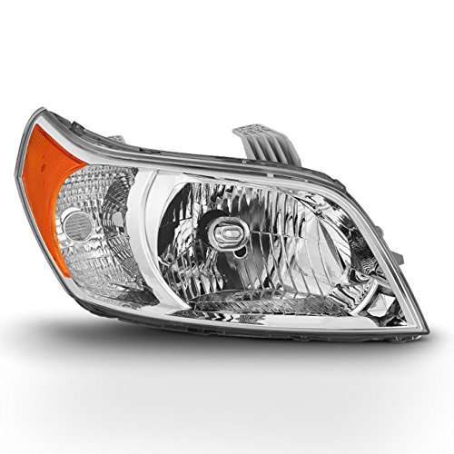 (Fits 2009 2010 2011 Chevy Chevrolet Aveo5 Passenger Side Headlight Headlamp Replacement - Right)
