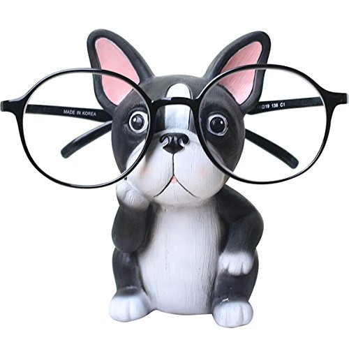 Coolfire Decorative Eyeglasses Sunglasses Spectacle Holder Display Stand Gifts (French bulldog) by Coolfire