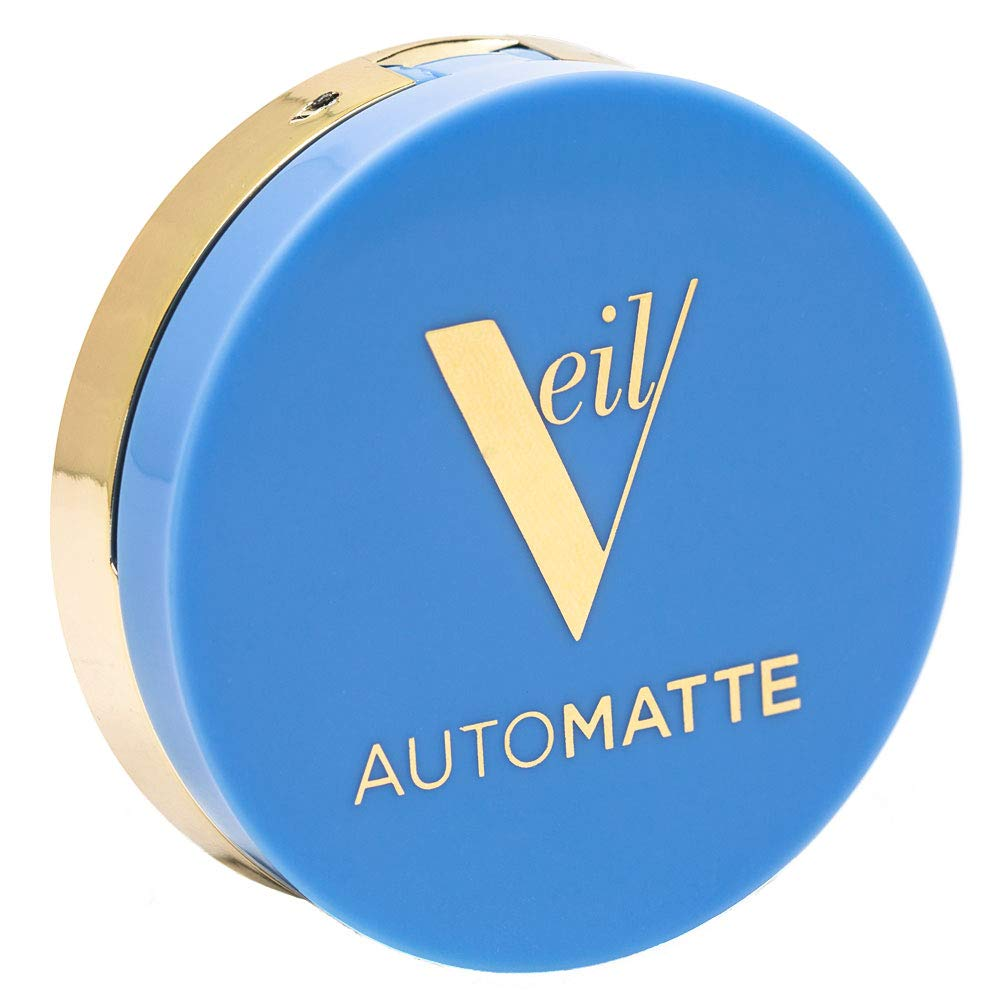 Veil Cosmetics Automatte Mattifying Base for Poreless Face Makeup | Primer | Touch-Up | Paraben Free
