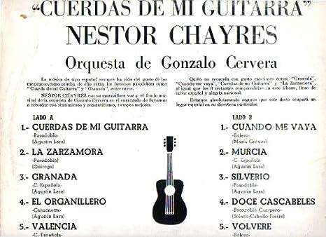 Cuerdas De Mi Guitarra Gonzalo Cervera; Nestor Chayres: Amazon.es ...