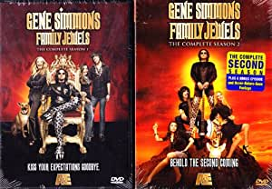 Family Jewels Complete Season One , Family Jewels Complete Season Two with Bonus Episode : Gene Simmons Kiss Series Collection