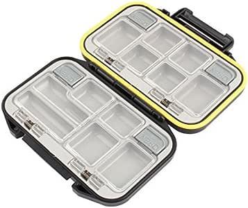 DealMux Plastic 12-Pocket Rocha Pesca Peças Box Caixa preta Grey: Amazon.es: Deportes y aire libre