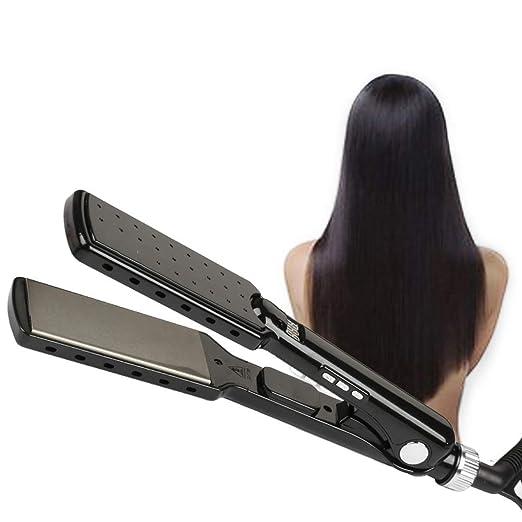 Amazon.com: GYP New Straight Hair Straightener, Titanium Flat Iron Straight Hair Straightener - Straight Hair Sprayer Splint - Professional Hair ...