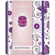 Santa Biblia NVI, edición diario personal - Mariposa