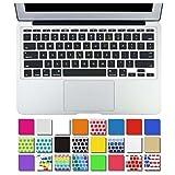 DHZ Black AIR-11inch Ultra Thin Keyboard Cover Silicone Skin for Apple MacBook Air 11.6